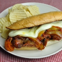 Sausage and Peppers Sandwiches recipe