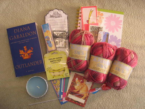 Knit the Classics swap goodies