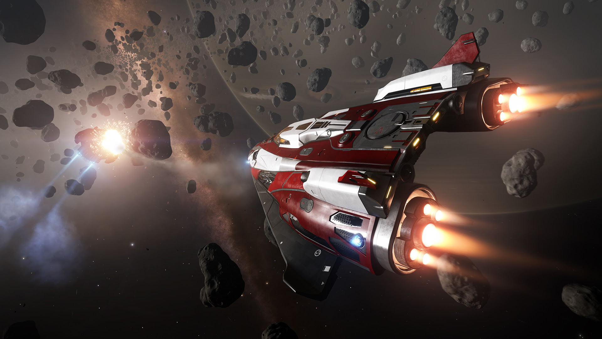 Elite Dangerous is available now on PS4, and Elite was a bloody masterpiece screenshot