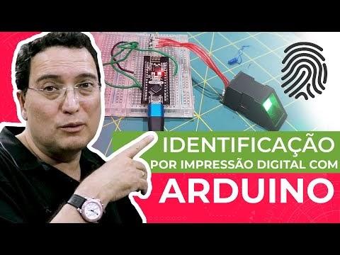 Identificação por impressão digital com Arduino
