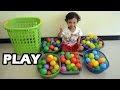 Memasukkan Bola ke Dalam Keranjang ❤ Incorporate Ball to Basket ❤ Children's Games