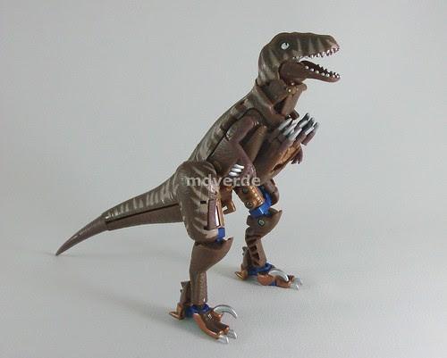 Transformers Dinobot Classic Henkei - modo alterno