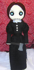 Lizzie Borden (by Tattered Rags Creepy Rag Dolls)