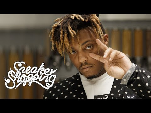 Juice WRLD Goes Sneaker Shopping