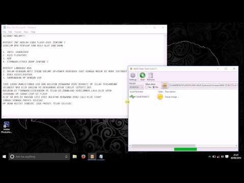 ASUS Flash Tool (Zenfone 2 / Zenfone 5 / Zenfone 6)