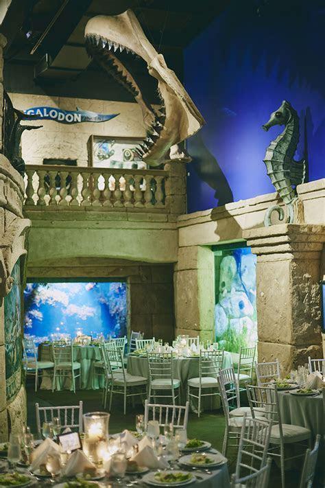 Long Island Aquarium Atlantis Wedding