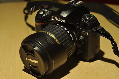 D70 with Tamron 18mm-200mm