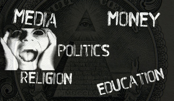 How the Controllers Use Religion, Money, Politics, and Education to Enslave Our Souls