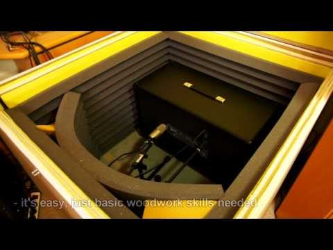 bobby owsinski 39 s big picture music production blog how to build a guitar amp isolation box. Black Bedroom Furniture Sets. Home Design Ideas