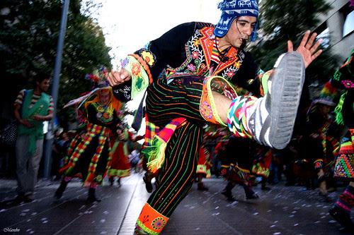 Carnaval Tinku, Santiago Chile. by Alejandro Bonilla
