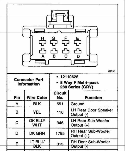 31 G35 Bose Amp Wiring Diagram