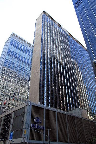 File:USA-NYC-Hilton Hotel.jpg