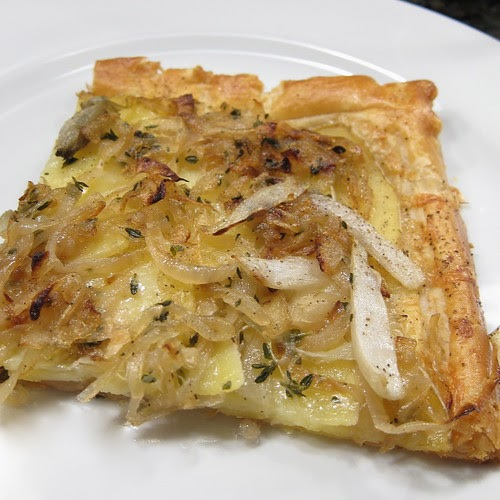 A Good Appetite: Potato, Onion and Endive Tart