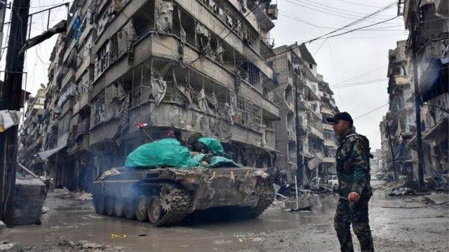 Evakuasi Mulai Dilakukan di Aleppo