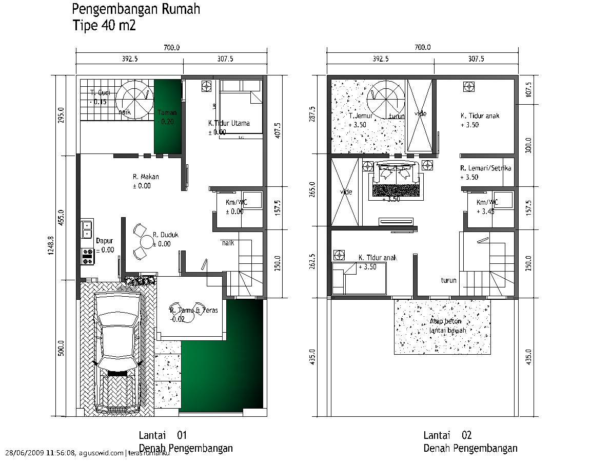 65 Desain Rumah Minimalis Pada Lahan Melebar Desain Rumah