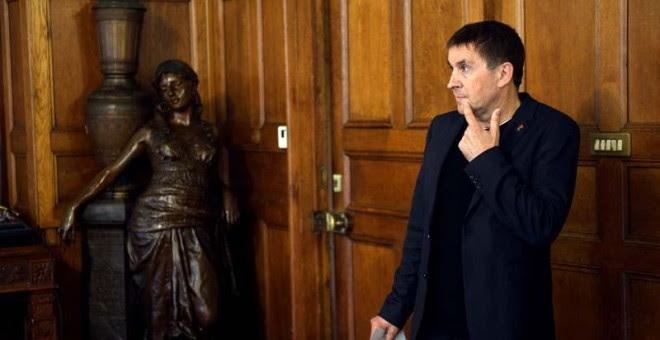 Arnaldo Otegi, el pasado 6 de junio en un acto en Donosti.   REUTERS