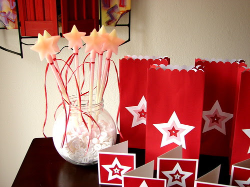 American Girl Doll Party Favors - Glow in the Dark Star Wands