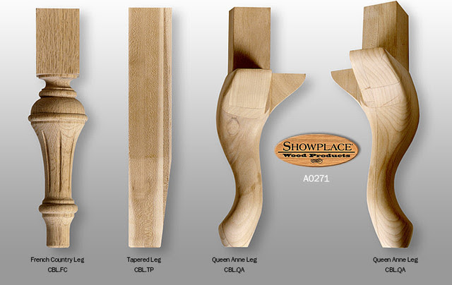 Cabinet Base Legs - Showplace Cabinets - Traditional ...