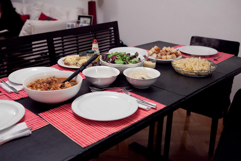 Dinner at the Quinteros