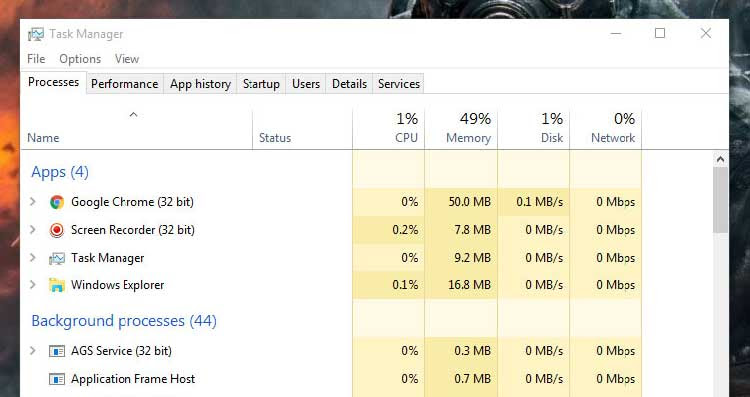 Ways To Open Task Manager In Windows 10