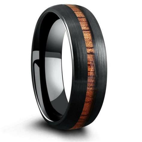 The Black Forest Woodland Wedding Ring ? Northern Royal, LLC