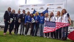 J/80 women sailors match race Ireland ISAF Worlds