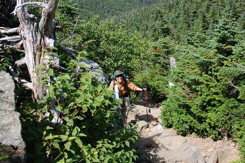 2rebecca coming up trail! copy.jpg