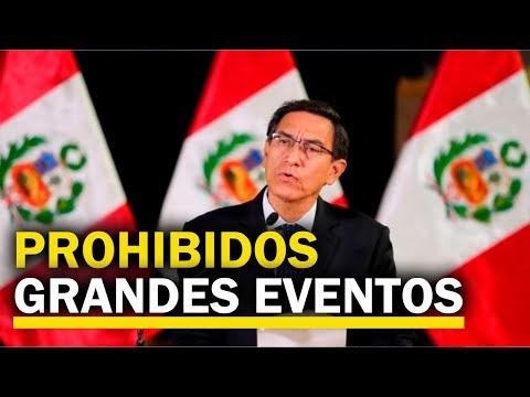 El presidente Martín Vizcarra anuncia nuevas medidas para enfrentar al nuevo coronavirus
