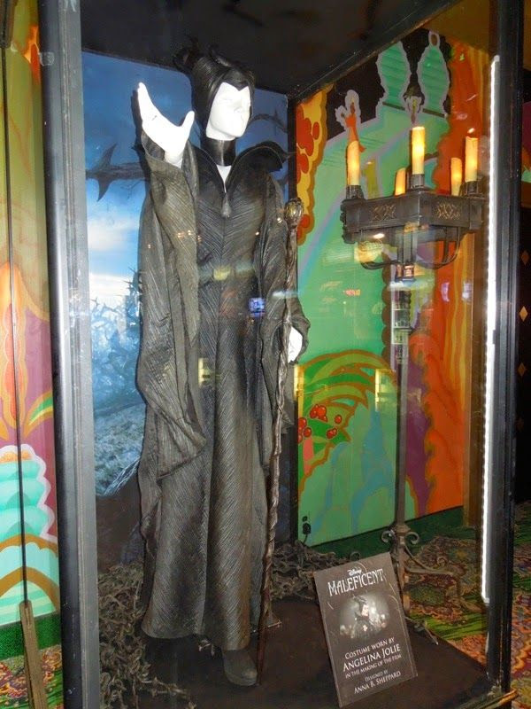 Angelina Jolie Maleficent Christening scene costume