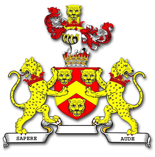 The armorial bearings of the earl of Macclesfield
