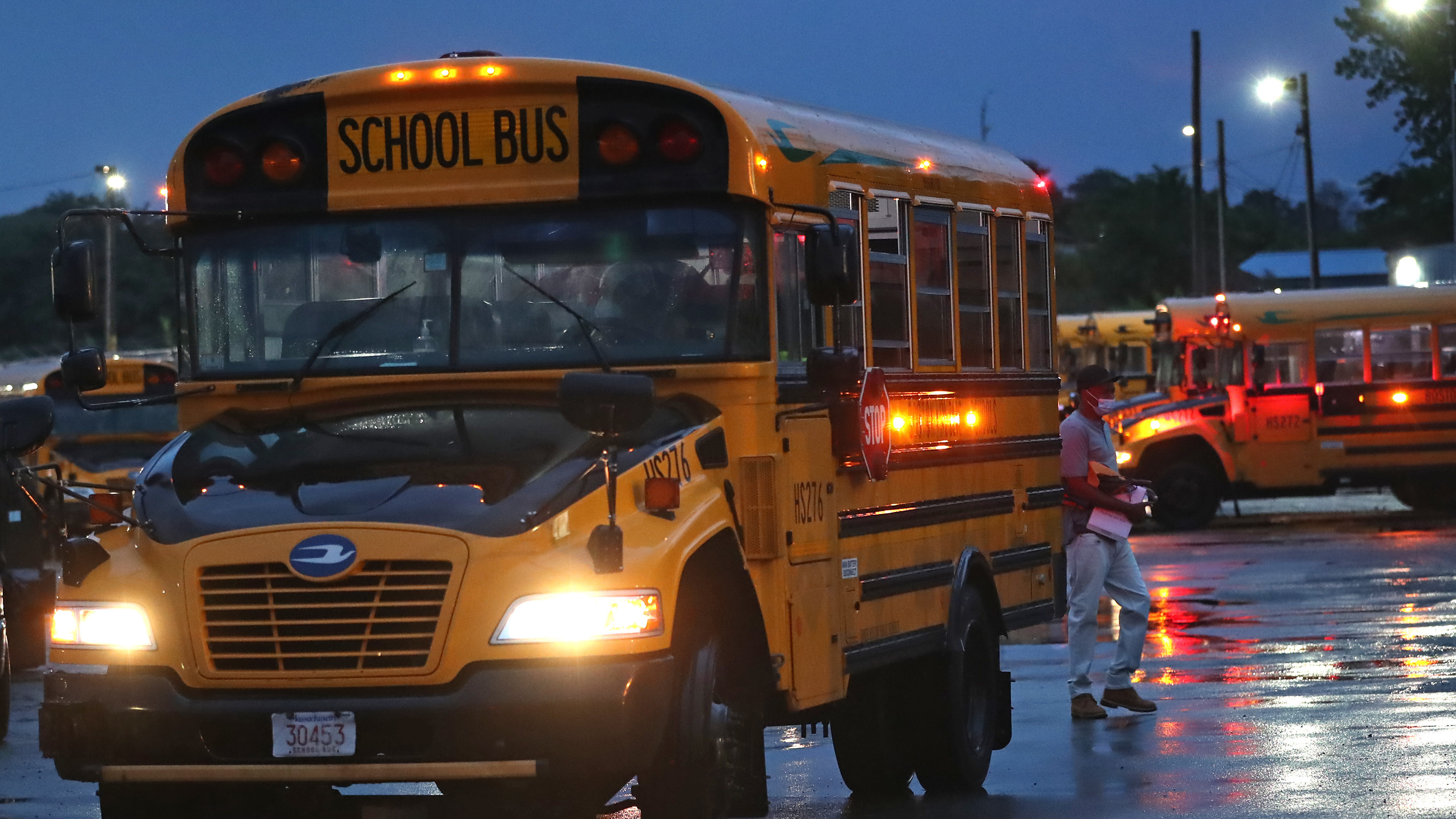 Massachusetts Calls On The National Guard To Mitigate A School Bus Driver Shortage
