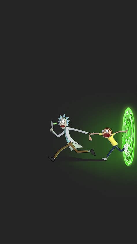 rick  morty iphone   wallpaper  hd