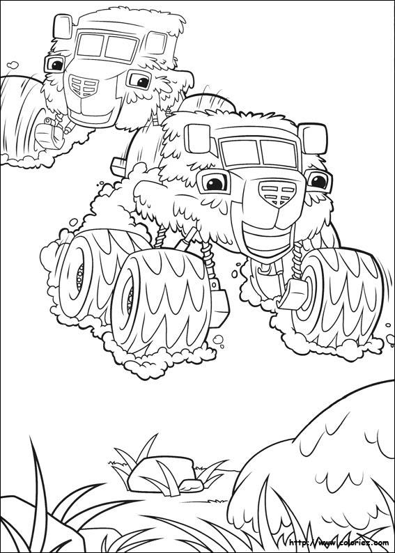 Index Of Imagescoloriageblaze Et Les Monster Machines