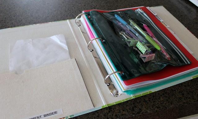 Getting Organized! Home Management Binder