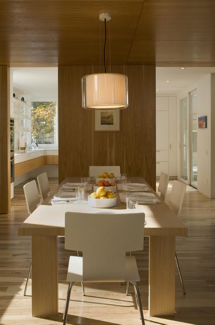 Fairfield House - modern - dining room - austin - by Webber + ...