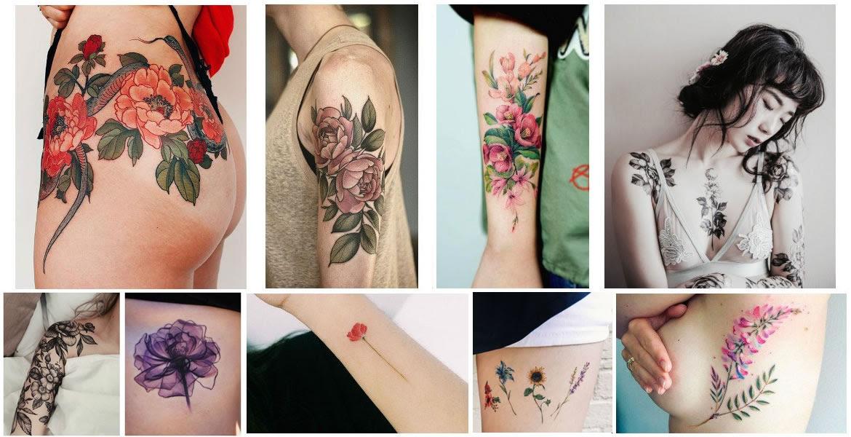 Significado De Los Tatuajes De Flores Spectra Tattoo Laser