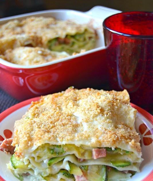 Mercoledì salato- Lasagne di zucchine con crumble al parmigiano
