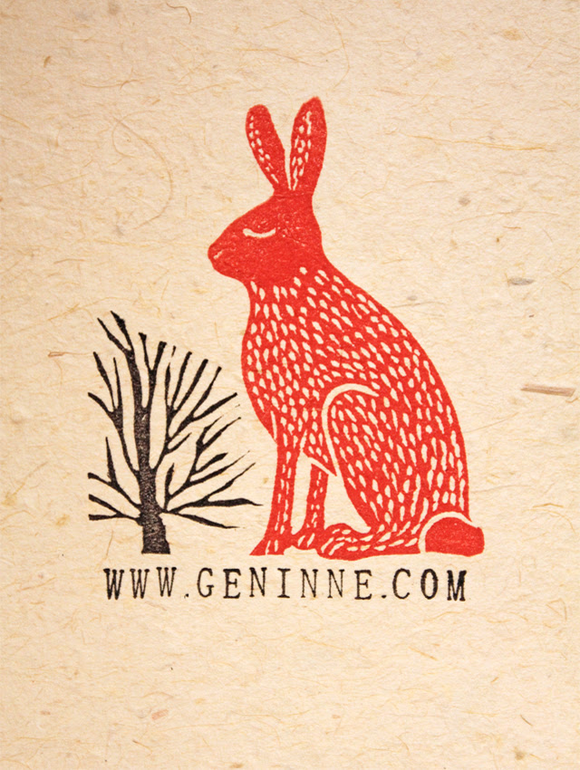Red Hare Stamp