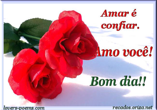 Tag Imagens De Bom Dia Amor Com Rosas