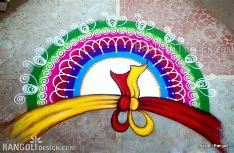 40 Beautiful Indian Rangoli Design from Aakruti by Divyesh