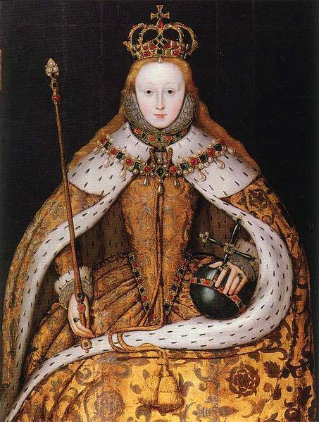 Ficheiro:Elizabeth I of England - coronation portrait.jpg