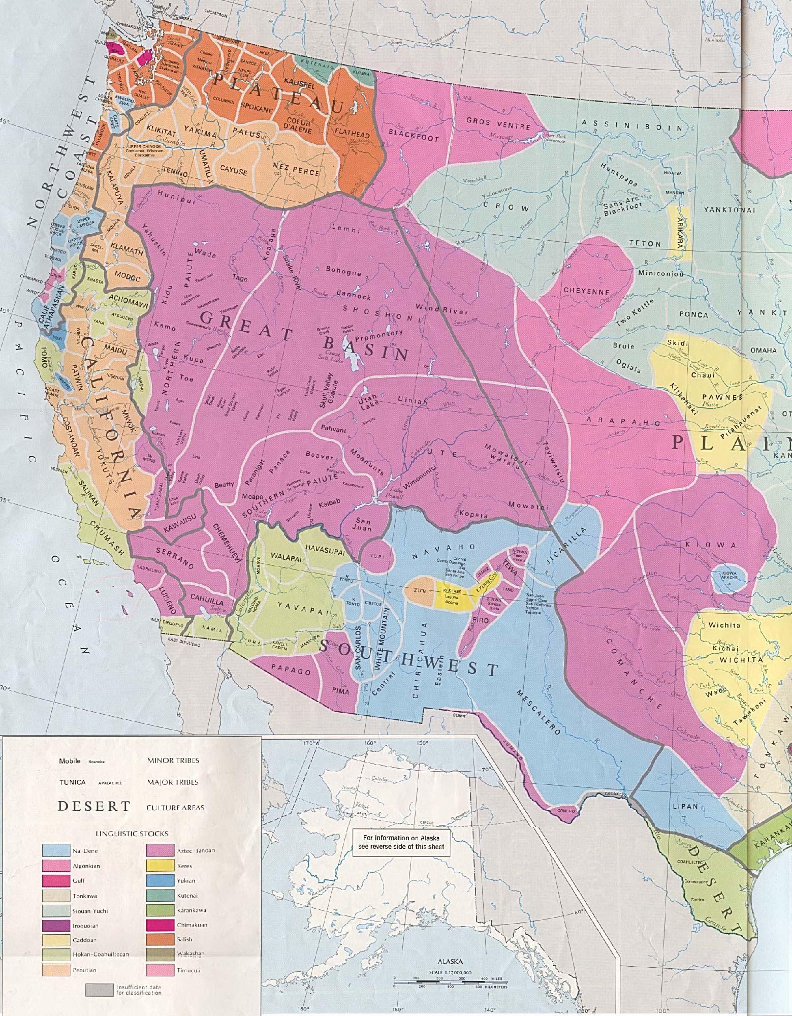 Tribus Indigenas Originales Estados Unidos Occidental 2869