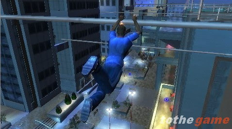 Screenshot of Free Running (PSP)