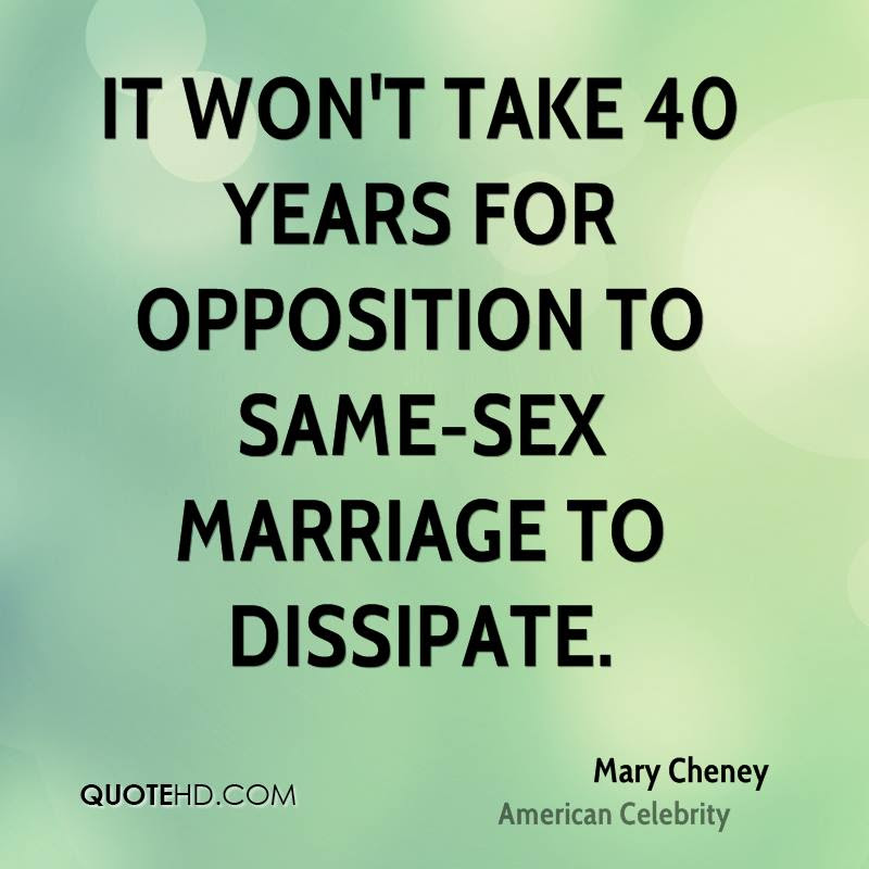 Mary Cheney Marriage Quotes Quotehd