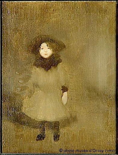Eugène Carrière, Nelly Carrière, 1890
