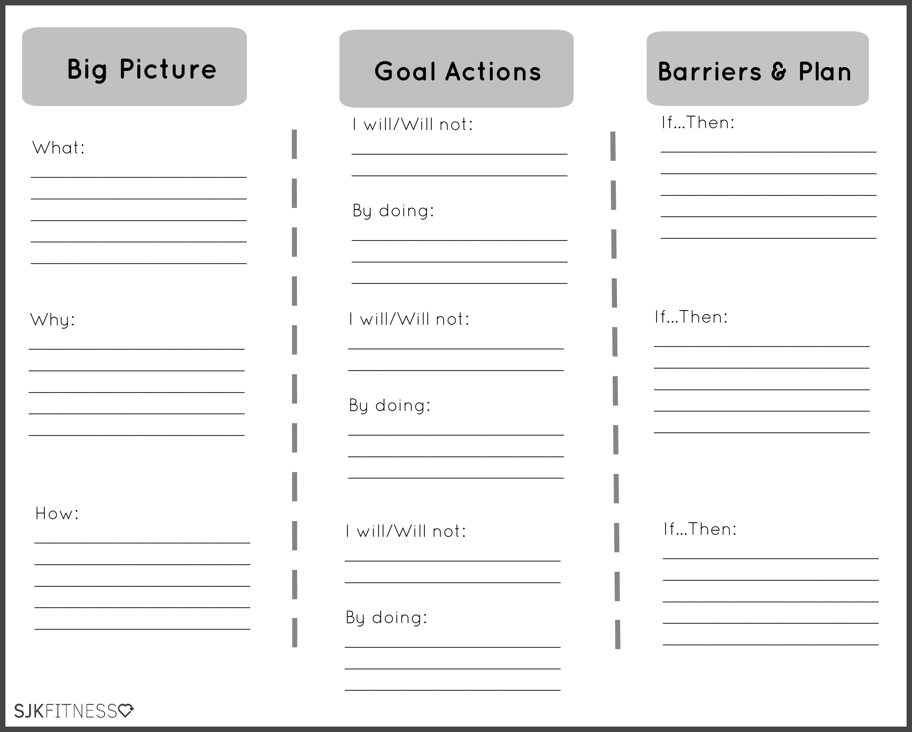 mental health goals template Most Effective Ways To ...