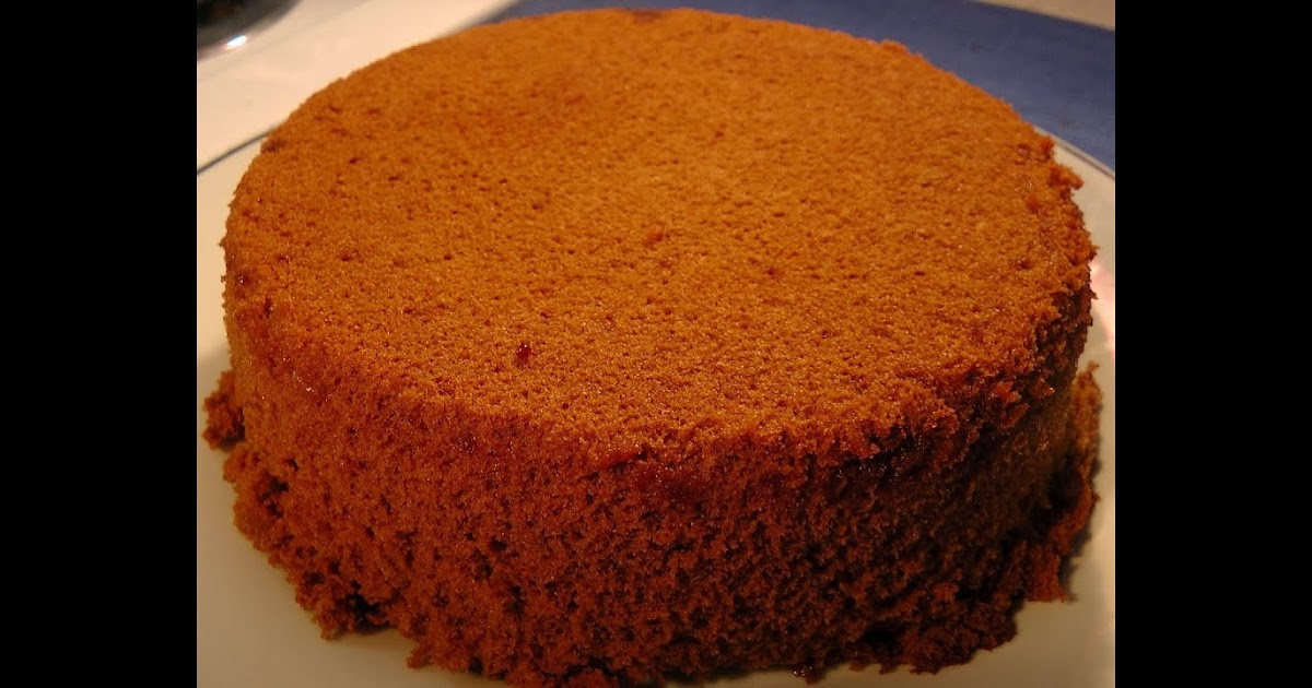Light Banana Sponge Cake Recipe