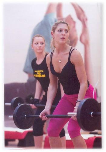 Women weightlift