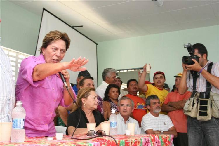 Rosalba garantiu que Estado vai ajudar vítimas das enchentes em Jucurutu