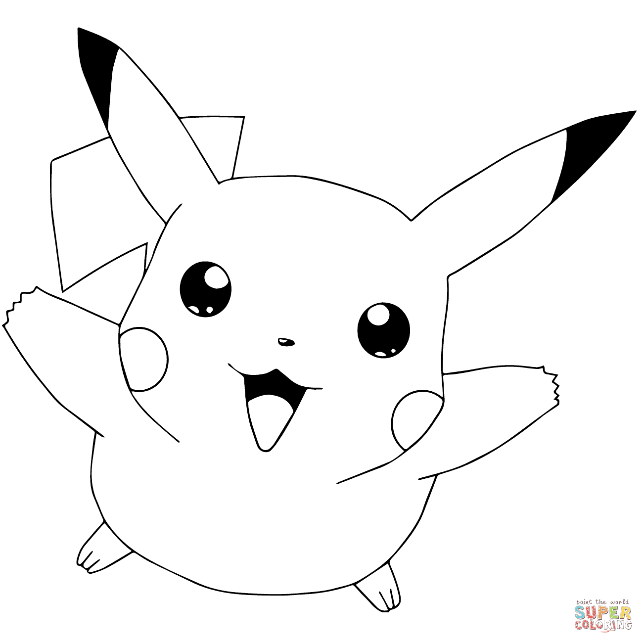 62 Coloring Book Pikachu Free